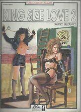 KING SIZE LOVE : Volume a fumetti EROTICO. storia Completa