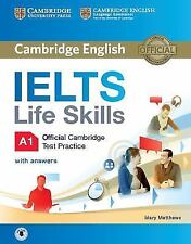 IELTS LIFE SKILLS OFFICIAL CAMBRIDGE TEST PRACTICE A1 WITH ANSWERS AND AUDIO - M
