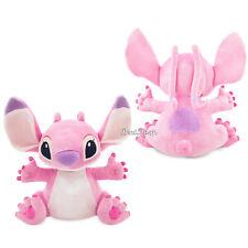 "Lilo & Stitch 14"" PINK ANGEL Plush Alien Dog Toy Doll Disney Store 2017 NEW"