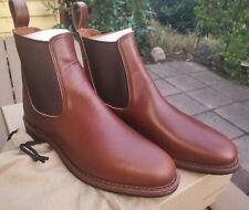 RED WING 9437 Williston Chelsea Boots US9 EU42 NP449€ Teak braune Lederstiefel