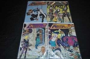 STRANGE ATTRACTORS LOT #1-4 (8.5-9.0) ALL SIGNED BY MICHAEL COHEN, MARK SHERMAN