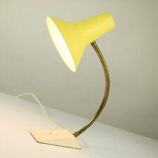 Hexenhut Tisch Lampe SIS Schwanenhals & Schrumpflack Leuchte Vintage 50er 60er