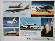 DOCUMENT PUB NASA ROCKWELL RECTO SPACE SHUTTLE BOEING 747 CHALLENGER COLUMBIA