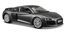 MAISTO 1:24 DISPLAY SPECIAL EDITION AUDI R8 V10 PLUS DIECAST CAR 34513 GREY