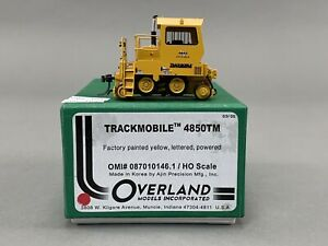 BT - HO Brass Train - OMI 087010146.1 Trackmobile 4850TM - Painted Yellow