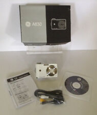 GE DIGITAL CAMERA AUTO FOCUS ZOOM LENS 3X, 8.0 MP, A830, with box, manual & CD