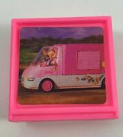 1996 Mattel Barbie Camper Van Kitchen TV Television Pink Replacement Part Piece