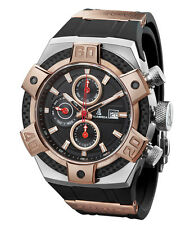 CALABRIA - ARMATO COLLECTION - Two-Tone Rose Gold Chronograph Men Watch with Car