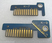 Snap On Scanner MT2500 MTG2500 Solus Ethos Modis Verus Keys K-7 & K-9 K7 & K9
