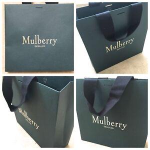 MULBERRY GIFT BAG - Length 28cm x Width 27cm x Depth 10cm