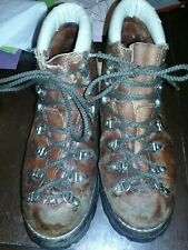 VTG Thom Mcan Mountaineering Hiking Boots Made in USA Heavy Duty Rugged Look SZ8