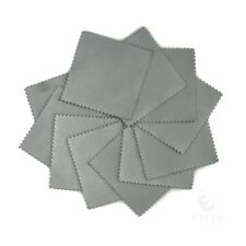 50pcs Silver Polish Cloth Cleaner Jewelry Cleaning Cloth Anti-Tarnish Tool YBPK2