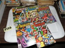 Avengers lot of 5 books #157 #168 #171 #176 and #177