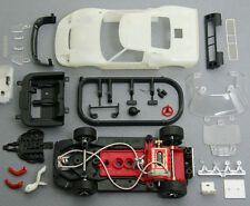 NSR 1188SW Ford GT40 Mark I Analog kit,RTR chassis,unpainted body,1/32 slot car
