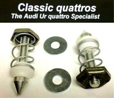 2 NEW BONNET PINS AUDI UR QUATTRO TURBO COUPE-COUPE-80-90 B2 VW SCIROCCO CORRADO