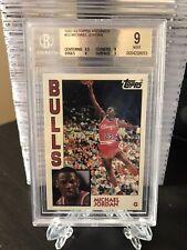 MICHAEL JORDAN 1992-93 Topps Archives #52 Bulls BGS 9 MINT with 9.5🔥Invest 📈📈