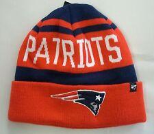 New England Patriots 47 Brand Knit Hat Beanie Rift Cuff
