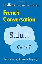 French Conversation (Collins Easy Learning) New Paperback Book Collins Dictionar