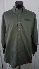 Sierra Nevada Brewing Beer Co Green Long Sleeve Button Front XL Shirt NEW TEFLON