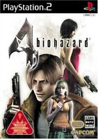 USED PS2 Resident Evil 4