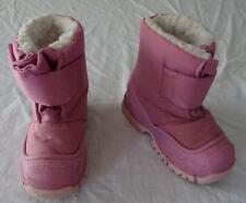Bottes rose de neige fourrées pour filles, Decathlon, 22-23