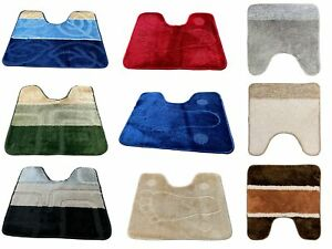 PEDESTAL MAT FOR TOILET OR  SINK 1 PIECE ASSORTED COLOURS CLEARANCE STOCK
