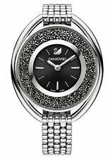 Swarovski Crystalline Oval Black Bracelet Ladies Watch 5181664