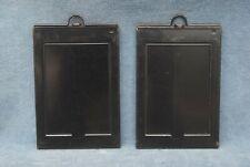 PAIR OF KODAK PREMO No.12  2-1/4 x 3-1/4  SHEET FILM & GLASS PLATE HOLDERS