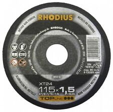 Rhodus XT24 Aliminium Cutting Disk, pack of 5, 115MM