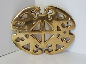 Brass Emblem Vintage Replica Of Mailbox Decoration Very Nice Heavy Quality 🌞
