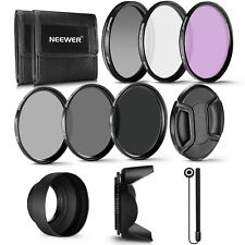 Neewer 62MM UV CPL FLD Lens Filter and ND Neutral Density Filter Kit