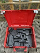 Milwaukee Cordless Corded Power Tool Case Stackable Storage Box Empty Large