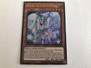 Rilliona, the Magistus of Verre GEIM-EN003 Ultra Rare 1st Edition YuGiOh