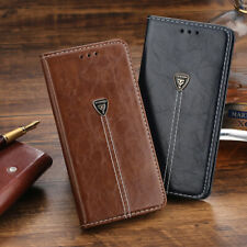Retro Luxury Slim Leather Case Flip Wallet Cover For iPhone 6 7 8 XR 11 Pro Max