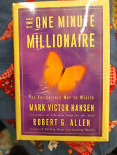 The One Minute Millionaire By Mark Victor Hansen NEW WITH CD SEALED!