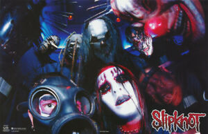 POSTER :MUSIC: SLIPKNOT - GROUP POSED      FREE SHIPPING !  #7593    LP33 O