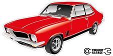 Holden LJ Torana GTR XU-1 2Door - Red
