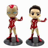Iron Man toy Q posket Tony Stark Action figure kids Avengers PVC Christmas gift