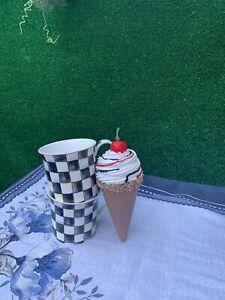 Fake Artificial Faux Ice Cream Cone Prop Home Food Decor.