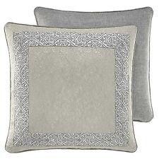 CROSCILL Alita European Pillow Sham Blue Grey Silver Cream