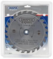 Genuine DRAPER Expert TCT Saw Blade 210X30mmx24T 9476