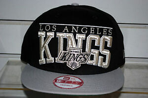 LOS ANGELES KINGS le arch NHL hockey cap New Era Snapback VINTAGE RARE