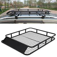 Universal Cargo Roof Basket Carrier Rack SUV Auto Top Luggage Storage Traveling