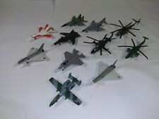 11 pc lot Maisto Aircraft Military Lot Planes Jets Helicopters die cast