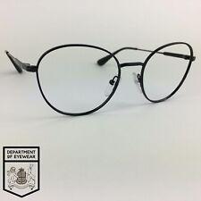 PRADA eyeglasses BLACK ROUND glasses frame MOD: VPR52V 1AB-1O1