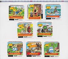 Ferrero Duplo Hanuta Sammelbilder Sticker - 8x Die Olympischen Spiele - 2000