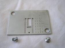 Rare rare original NECCHI Lydia 542/544 MK2 plaque aiguille machine à coudre & vis