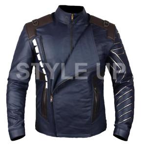 Avengers Infinity War Bucky Barnes Winter Soldier Casual Biker Leather Jacket