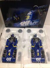 Tyrrell Ford P34 3 Jody Scheckter 4 P.Depailler Swedish GP 1:18 TrueScale Kyosho