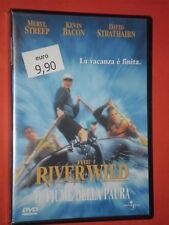 RIVER WILD- fiume della paura-  CON:MERYL STREEP - DVD FILM - nuovo e sigillato-